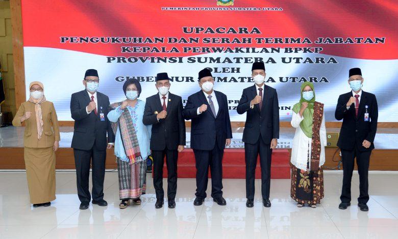 Kukuhkan Kepala BPKP Sumut, Gubernur Edy Rahmayadi Minta ...